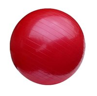 Wholesale 75cm Yoga Ball Exercise Fitness Aerobic For Health Gym Yoga Pilates with Pedal Inflating Pump