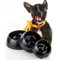 melamine dog bowl - Melamine Skid Resistant Dog Bowl Heat Resistant Pets Pot Slow Down Eating Dog Bowl