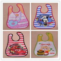 baby bibs picture - summer style piece baby boys girls baby feeding cartoon waterproof lunch bibs Mickey Mouse andother picture SJ