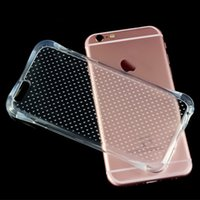 Wholesale The first generation Air Cushion Explosion Proof Drop Resistance Soft TPU Mobile phone Case For iPhone s se selling Factory price