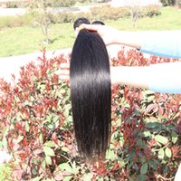 Wholesale DHL Mix Unprocessed A Remy Straight Hair Weave Brazillian Peruvian Malaysian Indian Virgin Human Hair Extensions