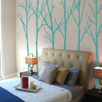 art motivation - Winter Tree Wall Decal Motivation Forest Headboard Living Room Vinyl Mural Decor Large tree wall sticker