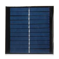 Venta al por mayor 20pcs / lot 1W 5.5V 95 * 95mm Resina de epoxi encapsulado Mini panel solar de silicona policristalina del panel solar para DIY y Educación