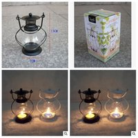 Wholesale 2014 colors small lantern candle Creative wedding christmas crafts classic storm lantern small home arts furnishing articles topB944