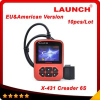 american spanish language - Launch Creader S obd2 obd ii code reader scanner X Creader VI pLus European American version Multi language DHL free