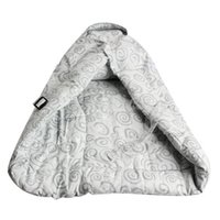 baby carrier infant insert - Infant Baby Carrier Inserts Pure Cotton Cushion Blanket Starry Sky Grey K5BO