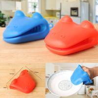 Wholesale New Silicone Heat Resisitant Kitchen Mitts Non Slip Gloves Gloves Design
