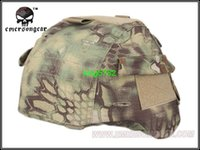Wholesale Army Military Equipment Airsoft Paintball Helmet Cover Combat EMERSON Tactical MICH Helmet Cover FOR MICH2000 Kryptek Mandrake