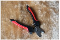 Wholesale Best price Brand new Red Pet Dog Cat Toe Care Nail Clippers Scissors