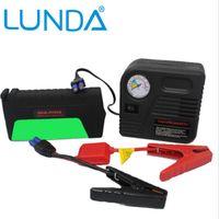 Wholesale 50800mAh LUNDA Mini Portable Multifunction Car Jump Starter V auto EPS emergency power supply strobe SOS lighting double USB