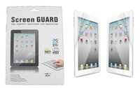 Wholesale Screen Protector Clear Matte LCD Screen Film Guard Protection with Retail Package for Ipad mini Ipad air