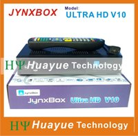 Wholesale jynxbox ultra hd v10 supporting ATSC turbo psk and dvb s2 optional FTA receiver for north