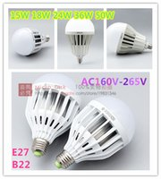 Wholesale New Arrival W E27 B22 AC160V V SMD LED Lamp White Warm White Energy Saving Light Global LED Bulb Lamp