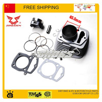 Wholesale Zongshen CB250 cc quad motorcycle atv cylinder block assembly mm gasket piston ring set dirt bike part order lt no trac