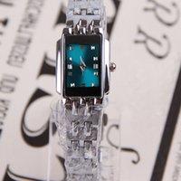 Dress Women's Not Specified 12pcs lot Classical Square Dial Wrist Watch Metal Steel Band Quartz Watch Women's Hand Accessories SW275