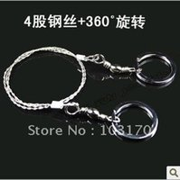 Wholesale New High Quality Camping Wire Saw Survival Kit Saw