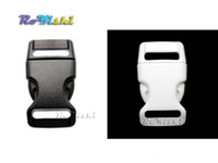 Wholesale 5 quot mm Contoured Curved For Paracord Bracelet Dog Harness Plastic Buckle Backpack Straps Webbing