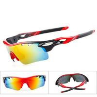 Wholesale New Polarized Racing Sport Cycling RIVBOS Brand Sunglasses Lens Pce Eyewear Bike Bicycle Glasses