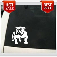 Wholesale Bulldog Vinyl Car Decal Dog Puppy Pet English French Boxerwall stickers car