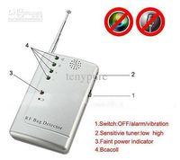 Wholesale RF SIGNAL DETECTOR WIRELESS singal FINDER Bug Detector china post freeshipping no retail box