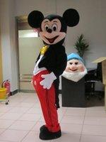 Fábrica de la venta directa de alta calidad de la mascota de Mickey Mouse Mickey Mouse traje de la mascota envío gratuito