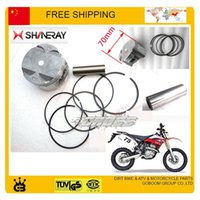 Wholesale 250cc shineray X2 x2x motorcycle engine piston ring set parts dirt bike accessories order lt no track