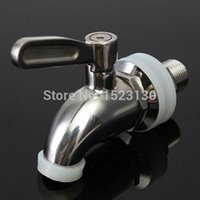 beer tap parts - New Stainless Steel Spigot Faucet keg Tap for Beverage Wine Beer juice Dispenser Parts hydrovalve ceramics valve core