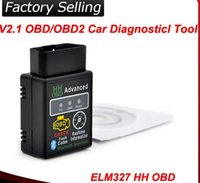 actron obd ii - Low price New arrival Auto Car ELM327 HH Bluetooth OBD OBD II Diagnostic Scan Tool Scanner