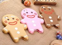 Cheap 3D cartoon Lovely cute Toy phone case Best gingersnap doll soft silicone cell case