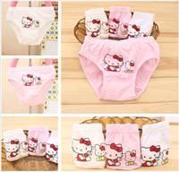 baby clothes bulk - Baby Cute Hello Kitty Children s Underwear Kids Little Girls Cotton Underpants Student Briefs Knickers Summer Clothing In bulk T