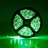 RGB Светодиодные полосы SMD 5050 Гибкие Светодиодные белый / синий / желтый / красный / зеленый светодиоды 300 Водонепроницаемый / Nonwaterproof 12В 24В 5А Дом декоративный свет