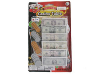 Wholesale Dollar Toy Education Toy Learning Toys Baby Toys Fashion Children Kids Fake Money Play Set Coins Notes Paper Pounds Plastic Pennies Gifts