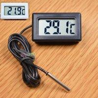Wholesale Thermometer Fridge Refrigerator Temperature Meter Mini Digital LCD Display Probe