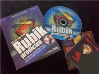 Wholesale Rubik Predicted by Mark Elsdon Gimmick DVD mental magic props mentalism street comedy