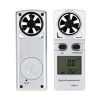Wholesale 0 m s Air Velocity Temperature Measuring Meter with LCD Display Mini Pocket Digital Anemometer Wind Speed Meter