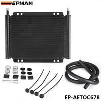 al por mayor coches kit de rendimiento-Kit Fin Trans enfriador EPMAN Racing Performance Car 19 Fila de refrigeración Productos Plate (11/32