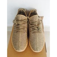 Cheap Factory Outlets Yeezy Boots 350 Oxford Tan Running Shoes Yeezy 350 Boost Yeezy Dropshipping With Box