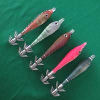Wholesale cm silica gel squid jig hook fishing lure jigging bright in the dark