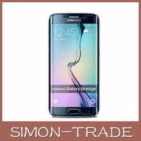 protective film - For samsung S6 edge S6 Tempered Glass Screen Protector Front Premium Skin Touch Protective For galaxy S6 Edge no bubble protective film