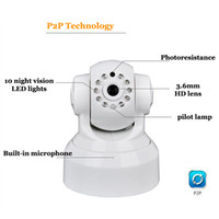 baby monitor hd app - HD P IP Camera Infrared night vision wifi remote control Easy to install APP phone Surveillance camera Baby Safety Monitoring