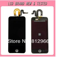 Wholesale 5pcs Original new LCD display with touch screen digitizer assembly for IPOD touch G th