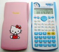 Wholesale cute Stationery student function calculator hello kitty dora A dream calculator pink blue calculator cartoon girl gift portable cute
