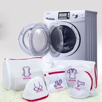 Wholesale High Quality Zipped Sock Bra Shirt Underwear Embroidery Mesh Laundry Washing Bag