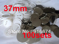 badge makers - Discount mm Sets Professional Badge Button Maker Pin Back Pinback Button Supply Materials