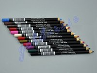 aloe makeup - NEW Makeup Eyeliner Pencil MIX EYE LIP Liner Pencil Aloe Vitamin E1 g Black Brown Waterproof Black EUB USPS GIFT