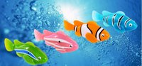 Wholesale 2015 Original Robo fish Robofish Electric Toys Emulational Electronic Pet Toys Creative Baby toys Robot Fish with retail package