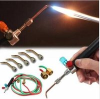 Wholesale Smith New Top Gas Torch Welding Soldering Little Torch Soldering With Weld Tips