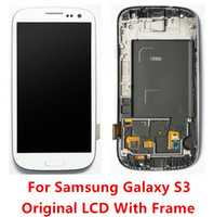 For Samsung S3 I9305 galaxy s3 digitizer - High Quality LCD Touch Screen Digitizer With Frame For Samsung Galaxy S3 i9300 T999 i747 i535 i9305
