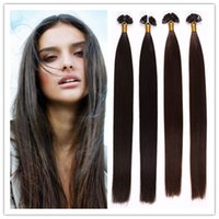 "Cheap 18""-28""Indian Keratin flat tip hair extensions 100% Indian Human remy Hair 1G S 100G PC 300G LOT In STOCK Free Shipping"