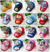 kids sun hats - 2015 Frozen TMNT doctora sofia hat childrens cartoon ball cap kids baseball cap sun hat beanie hat baseball hat for boy girl A